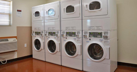 Telluride Lodge laundry